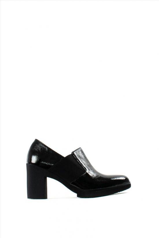 Γυναικεία Δερμάτινα Ανατομικά Παπούτσια WONDERS M-3722 BLACK