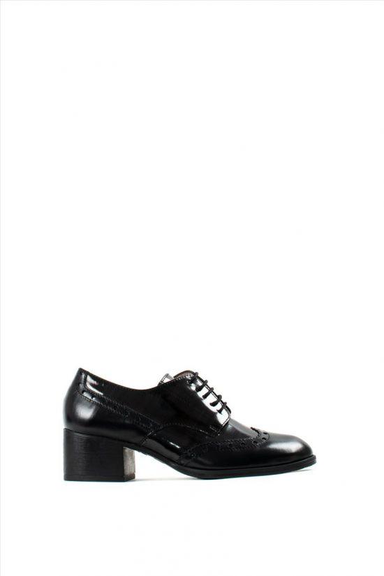 Γυναικεία Δερμάτινα Oxford WONDERS G-5101 BLACK