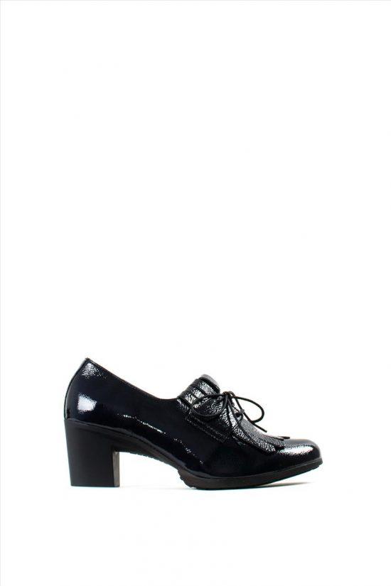 Γυναικεία Δερμάτινα Ανατομικά Παπούτσια WONDERS G-4740 BLUE