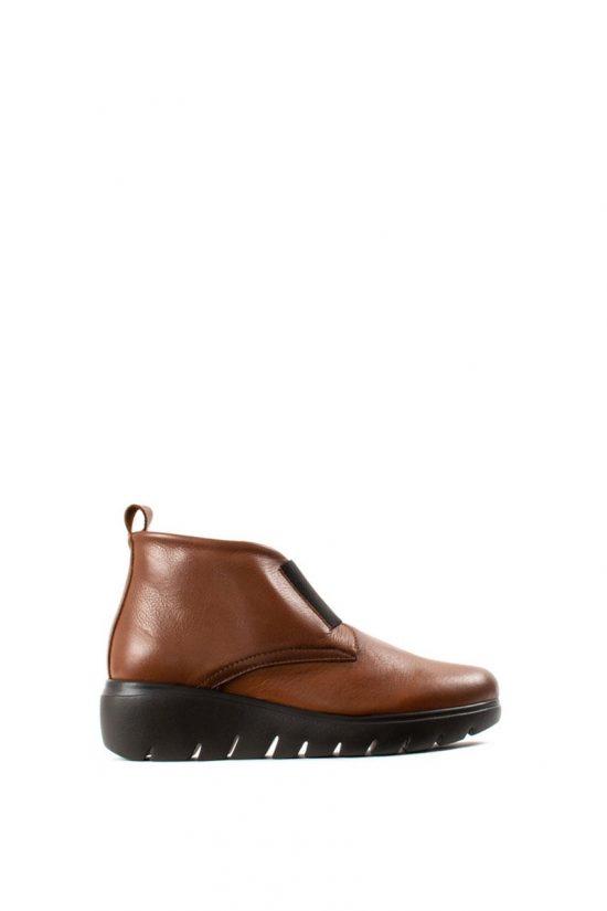 Γυναικεία Δερμάτινα Casual Shoes BRYAN 35513 TABA