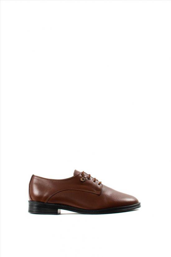 Ανδρικά Δερμάτινα Δετά Παπούτσια ZAKRO COLLECTION 402 TABA