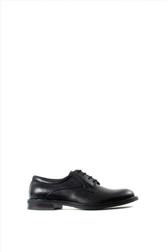 Ανδρικά Δερμάτινα Δετά Παπούτσια ZAKRO COLLECTION 109 BLACK