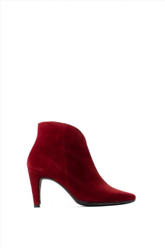 Γυναικεία Καστόρινα Ankle Boots WONDERS M-4204 BORDEAUX