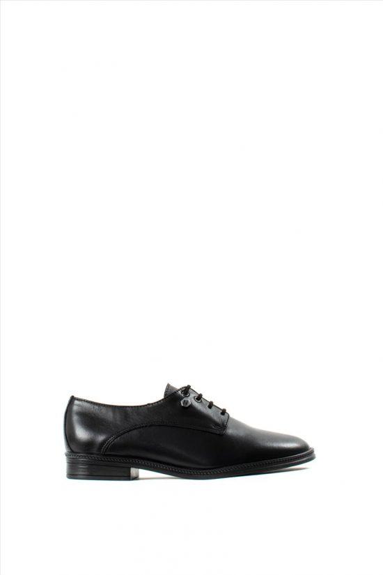 Ανδρικά Δερμάτινα Δετά Παπούτσια ZAKRO COLLECTION 402 BLACK