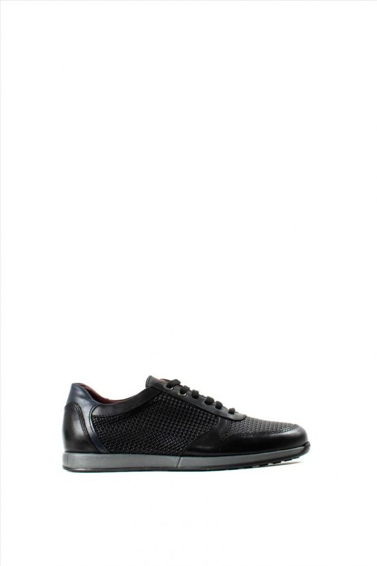 Ανδρικά Δερμάτινα Sneakers ZAKRO COLLECTION 9335 BLACK