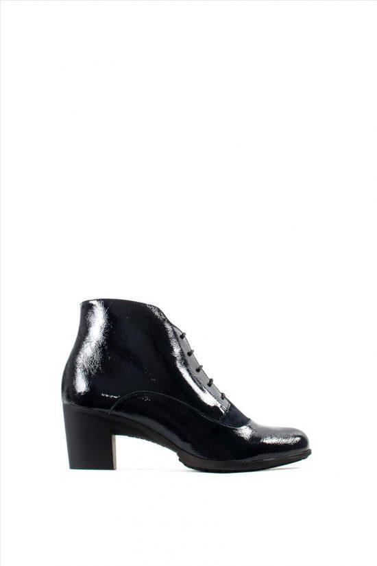 Γυναικεία Δερμάτινα Ankle Boots WONDERS G-4745 BLUE