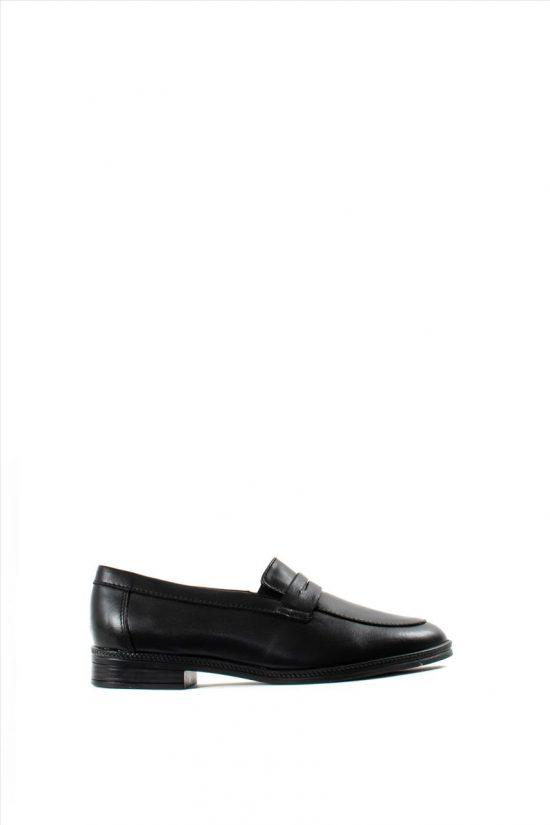 Ανδρικά Δερμάτινα Loafers ZAKRO COLLECTION 400 BLACK