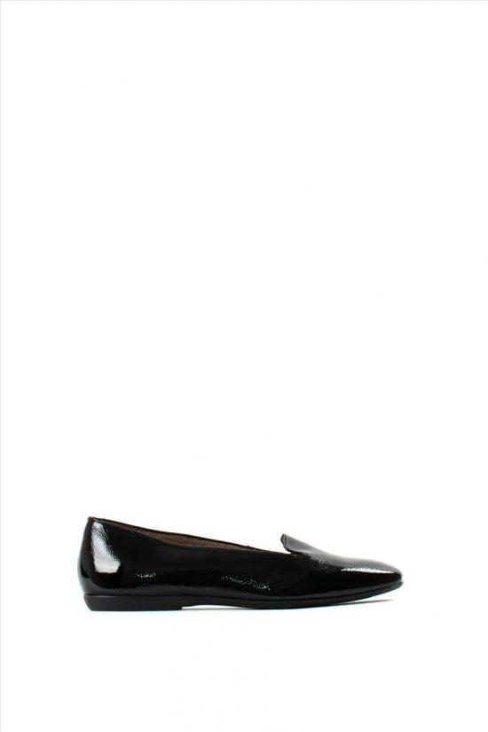 Γυναικεία Δερμάτινα Loafers WONDERS A-8611 BLACK