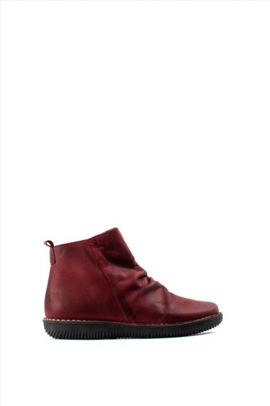 Γυναικεία Suede Ankle Boots CHACAL 4802 ΒΥΣΣΙΝΙ