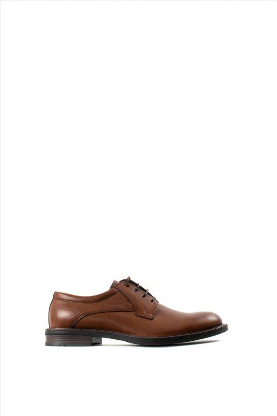 Ανδρικά Δερμάτινα Δετά Παπούτσια ZAKRO COLLECTION 109 TABA