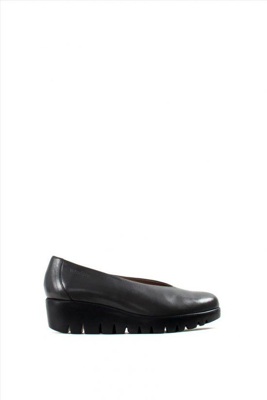 Γυναικεία Δερμάτινα Ανατομικά Παπούτσια WONDERS C-33141 GREY