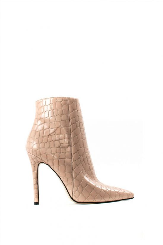 Γυναικεία Ankle Boots SANTE 19-632 NUDE