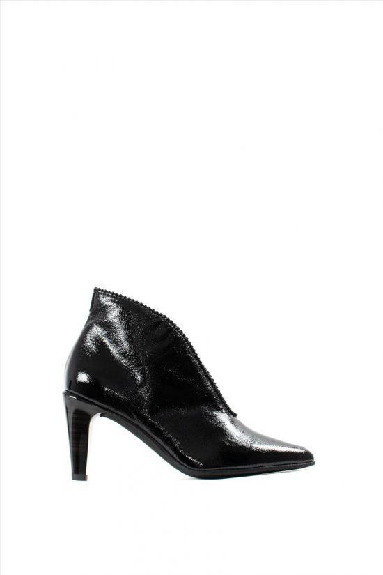 Γυναικεία Ankle Boots Λουστρίνι HISPANITAS HI99369 RIO I9 BLACK