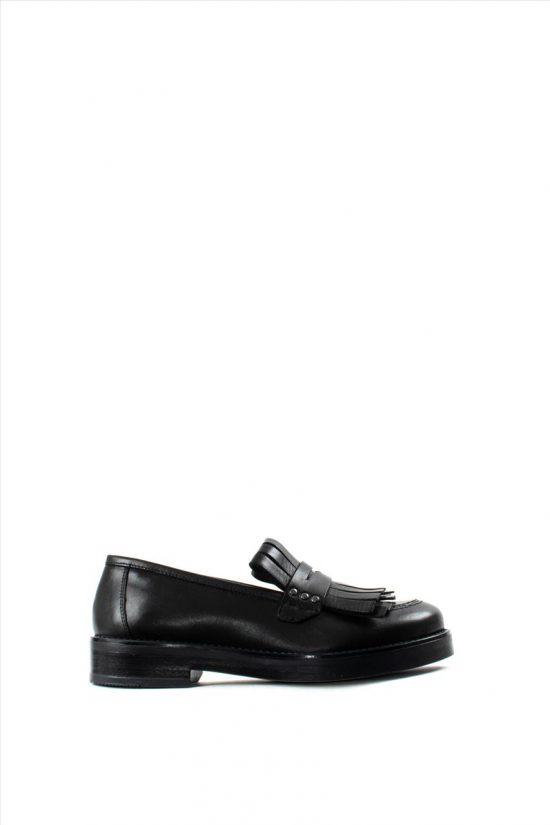 Γυναικεία Δερμάτινα Loafers PAOLA FERRI D4791 VITELLO NERO