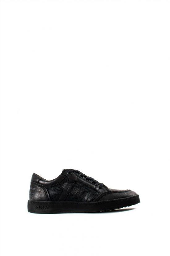 Ανδρικά Δερμάτινα Sneakers REPLAY RZ1G0008S WHITSET