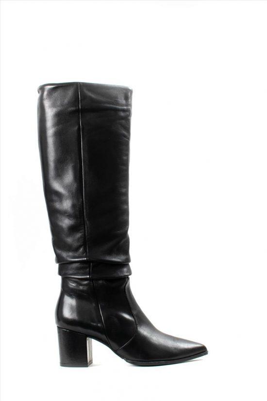 Γυναικείες Δερμάτινες Μπότες PAOLA FERRI D7055 SMIRNA NERO