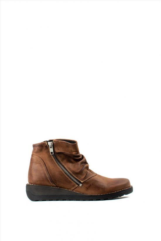 Γυναικεία Suede Ankle Boots CHACAL 4832 ΤΑΒΑ