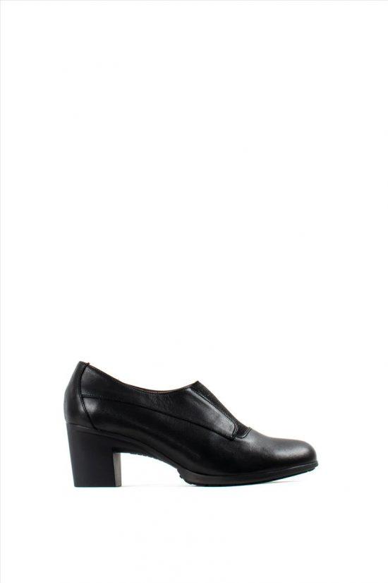 Γυναικεία Δερμάτινα Ανατομικά Παπούτσια WONDERS G-4743 BLACK