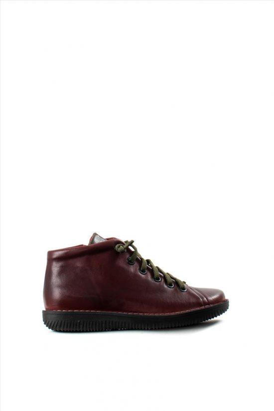 Γυναικεία Δερμάτινα Ankle Boots CHACAL 4801 BYSSINI