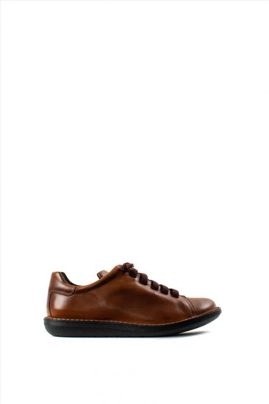 Ανδρικά Δερμάτινα Casual Shoes CHACAL C1001 TABA
