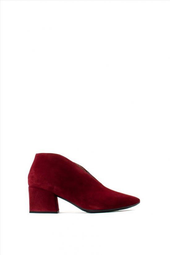 Γυναικεία Καστόρινα Ankle Boots WONDERS I-7803 BORDEAUX
