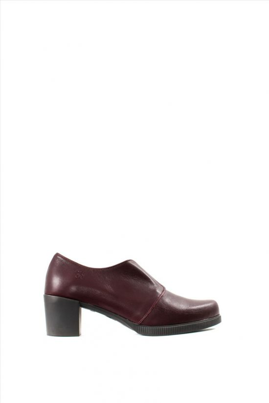 Γυναικεία Δερμάτινα Ankle Boots YOKONO JANE 008 ZAPATO TACON BORDEAUX