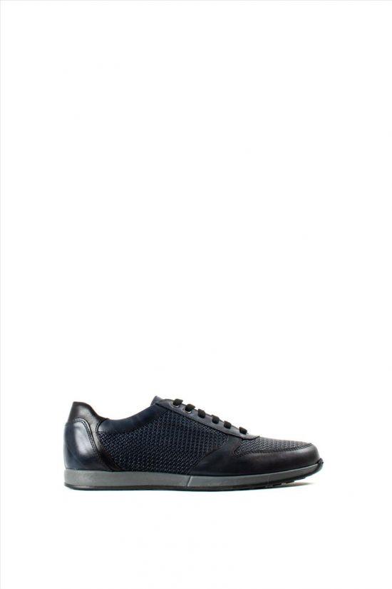 Ανδρικά Δερμάτινα Sneakers ZAKRO COLLECTION 9335 BLUE