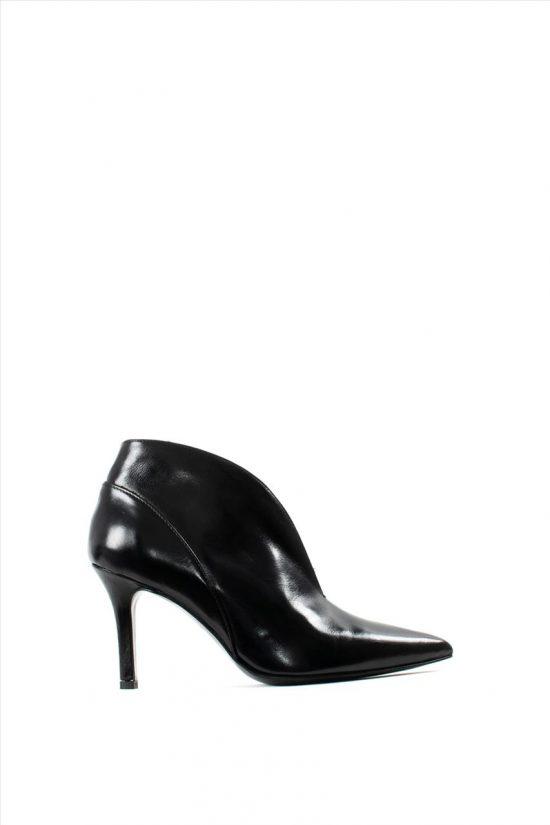 Γυναικεία Δερμάτινα Ankle Boots PAOLA FERRI D7071 ICE NERO