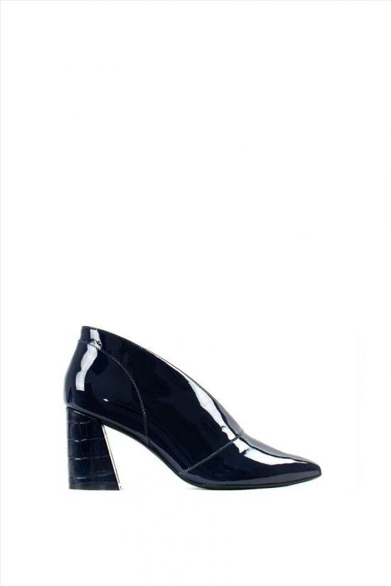 Γυναικεία Ankle Boots Λουστρίνι CAPELLI ROSSI 4-795-19713-28 NAVY