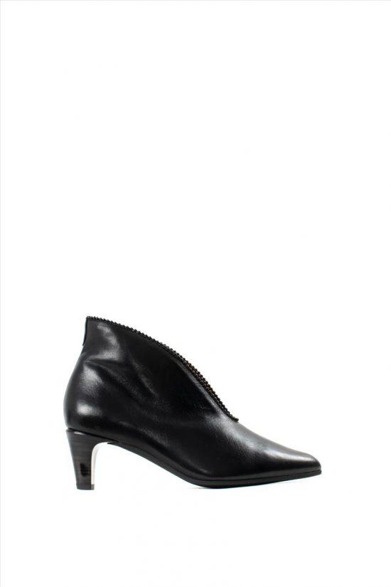 Γυναικεία Δερμάτινα Ankle Boots HISPANITAS HI99193 SOHO I9 BLACK