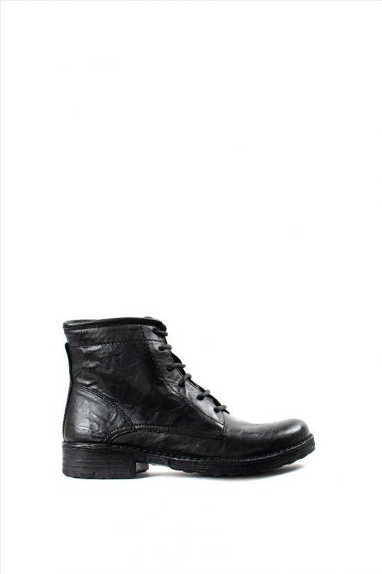 Γυναικεία Δερμάτινα Μποτάκια KHRIO 1-684-19522-23 BLACK