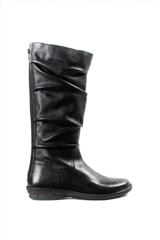 Γυναικείες Δερμάτινες Μπότες KHRIO 1-684-19507-24-1