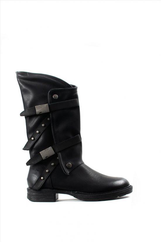 Γυναικείες Μπότες FRANCESCO MILANO T38-4P BLACK
