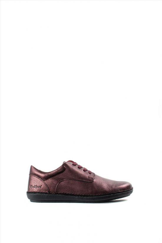 Γυναικεία Δερμάτινα Casual Shoes KICKERS 654132-50 PURPLE
