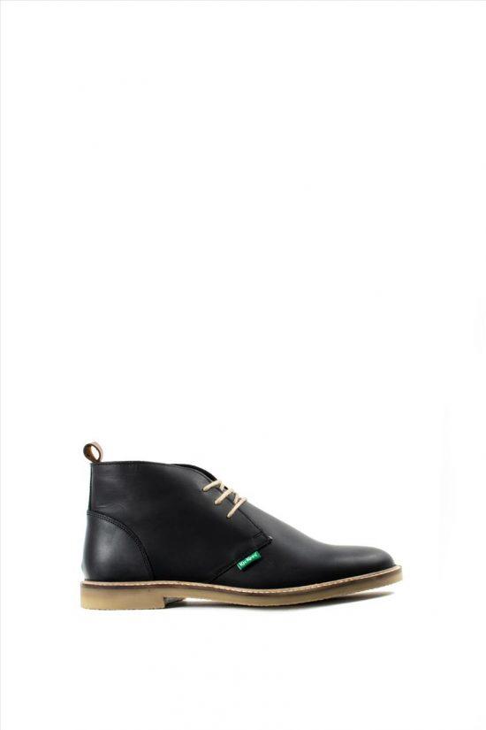 Ανδρικά Δερμάτινα Παπούτσια KICKERS 529765-60 BLACK