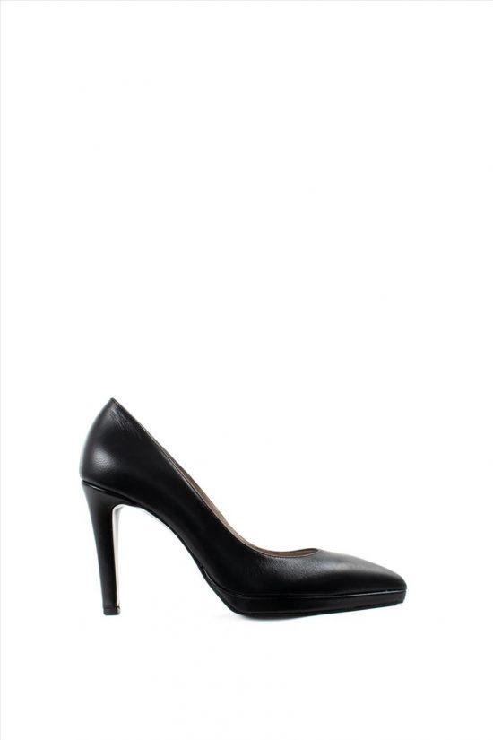 Γυναικείες Δερμάτινες Γόβες ELLEN 16700 BLACK