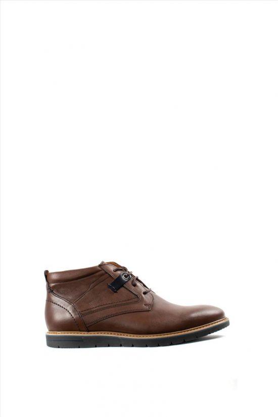 Ανδρικά Δερμάτινα Δετά Παπούτσια DAMIANI 19-04-696