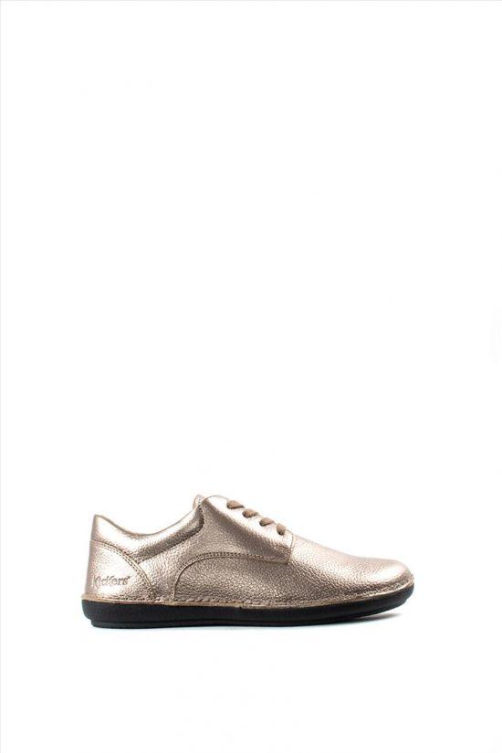 Γυναικεία Δερμάτινα Casual Shoes KICKERS 654132-50 SILVER