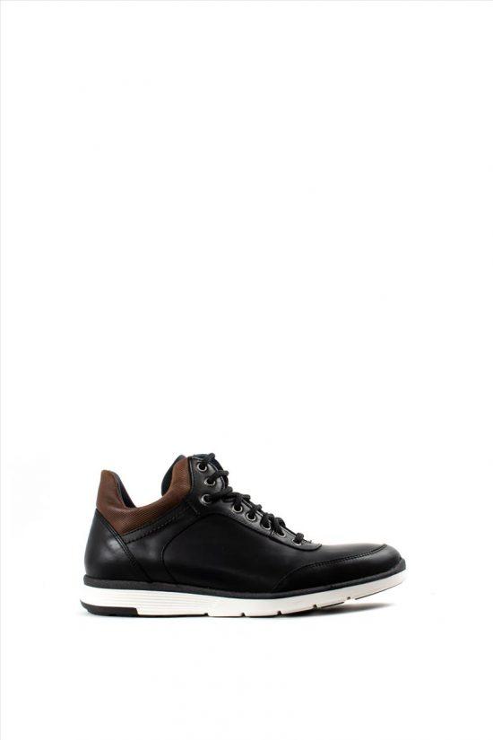 Ανδρικά Δερμάτινα Casual Shoes KALT 941-1 BLACK