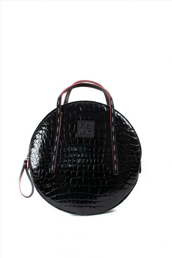 Γυναικεία Τσάντα Ώμου FRNC 1418 BLACK