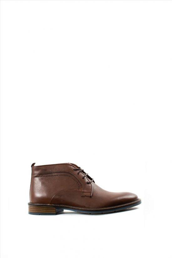 Ανδρικά Δερμάτινα Δετά Παπούτσια DAMIANI 19-04-350