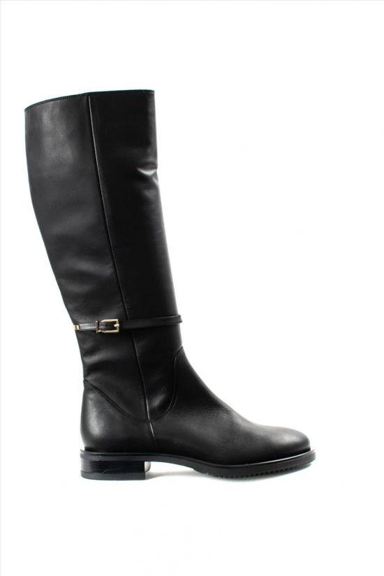 Γυναικείες Δερμάτινες Μπότες MOURTZI 2/20315 BLACK
