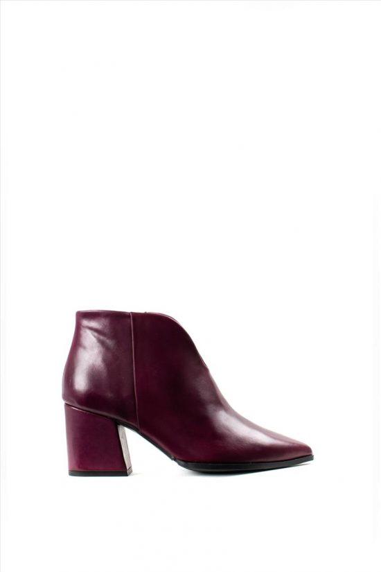 Γυναικεία Δερμάτινα Ankle Boots PAOLA FERRI 4676