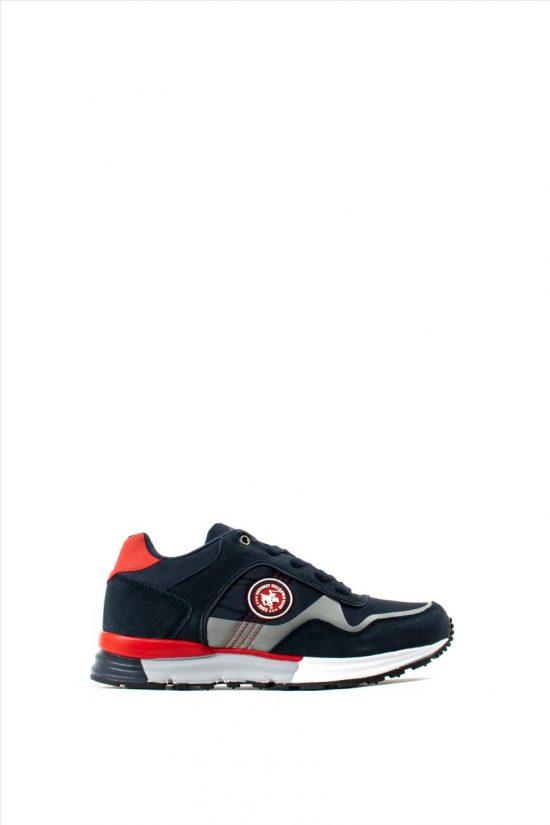 Ανδρικά Καστόρινα Sneakers BEVERLY HILLS POLO CLUB PC214/NAVY RED