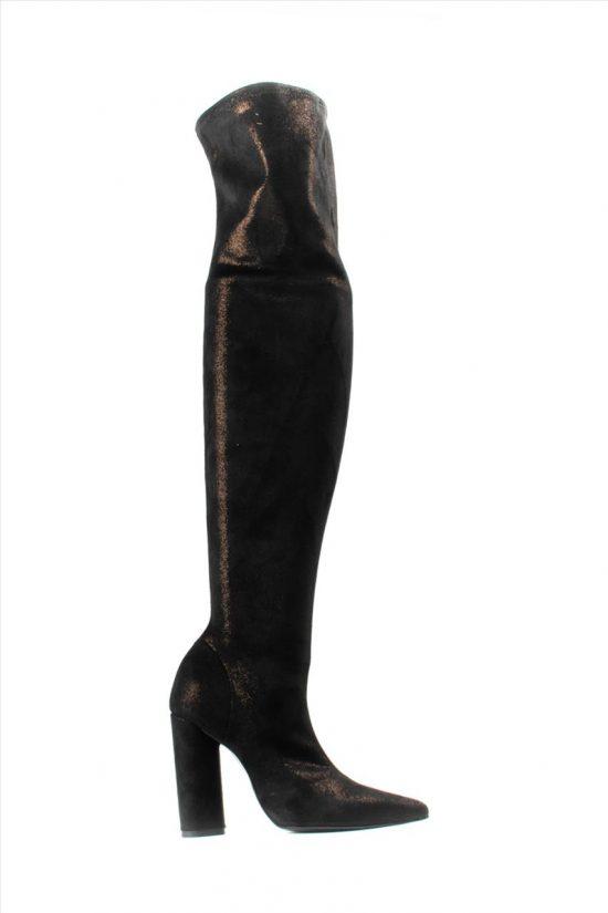 Γυναικείες Μπότες SANTE 19-613 BLACK/BRONZE