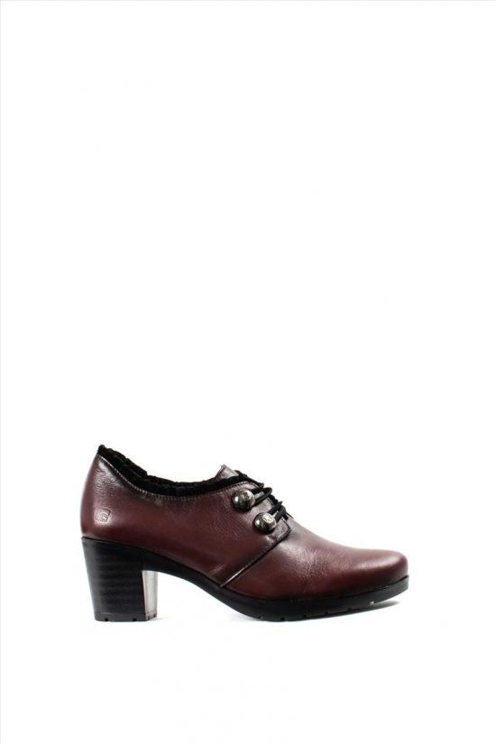 Γυναικεία Δερμάτινα Ankle Boots JOSE SAENZ 5102-L-TP RED