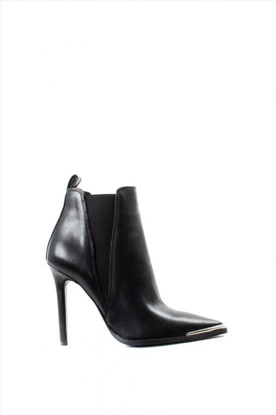 Γυναικεία Ankle Boots SANTE 19-624 BLACK
