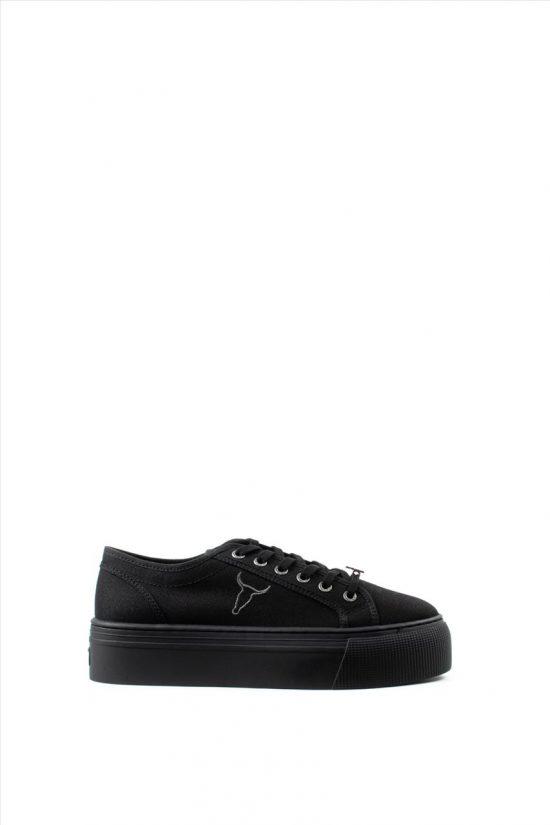 Γυναικεία Yφασμάτινα Sneakers WINDSOR SMITH RUBY 0112000487 BLACK