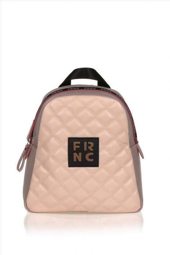 Γυναικεία Τσάντα Backpack FRNC 1202 S20 ΠΟΥΡΟ