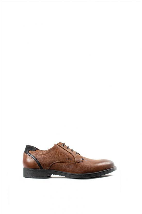 Ανδρικά Δερμάτινα Δετά Παπούτσια GEOX JAYLON U94Y7H 00046 C6001